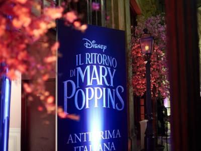 Il Ritorno di Mary Poppins Premiére